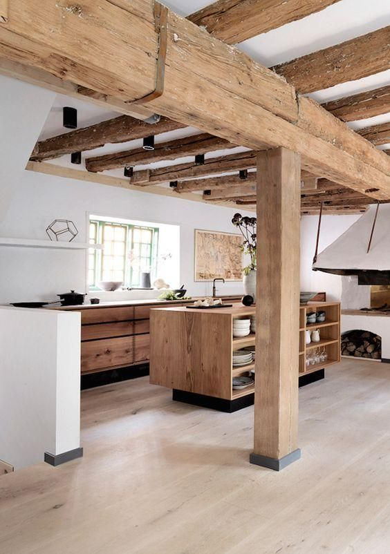 drewniane bele