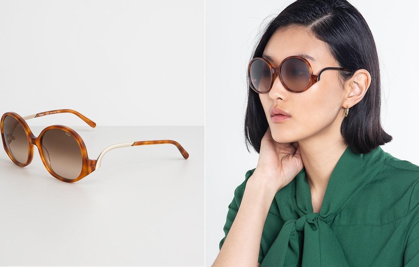 15 designerskich okularów CHLOÉ na lato 2019 Porządnie o