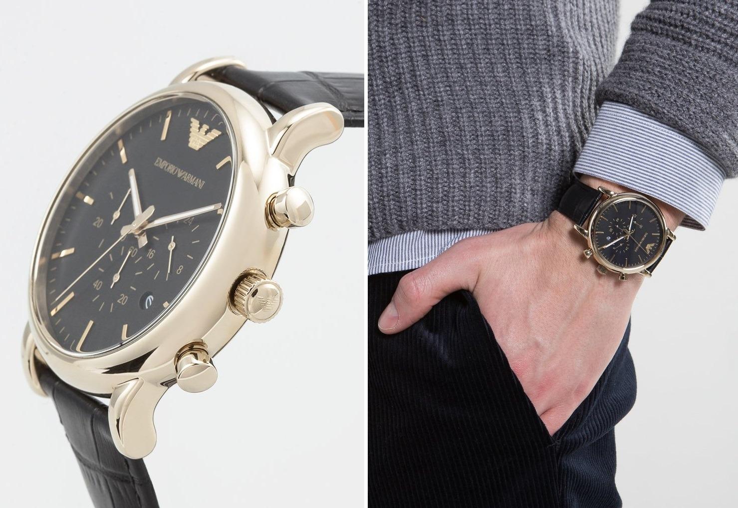 00f13306a247c Ekskluzywne zegarki Emporio Armani, które mężczyźni pokochali ...