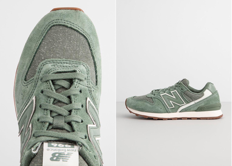 oliwkowe sneakersy new balance