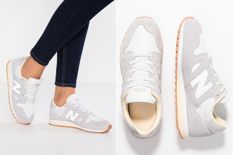 jasnoszare sneakersy new balance