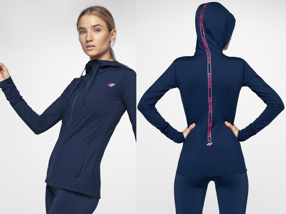 Komfortowa damska odzież sportowa 4F na siłownię i fitness